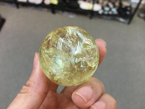 Citrine Ball 黃水晶球 41mm ( 已售 / Sold )