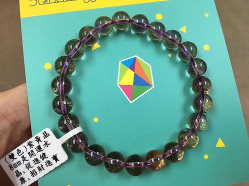 Ametrine 紫黃晶 8mm ( A Grade )