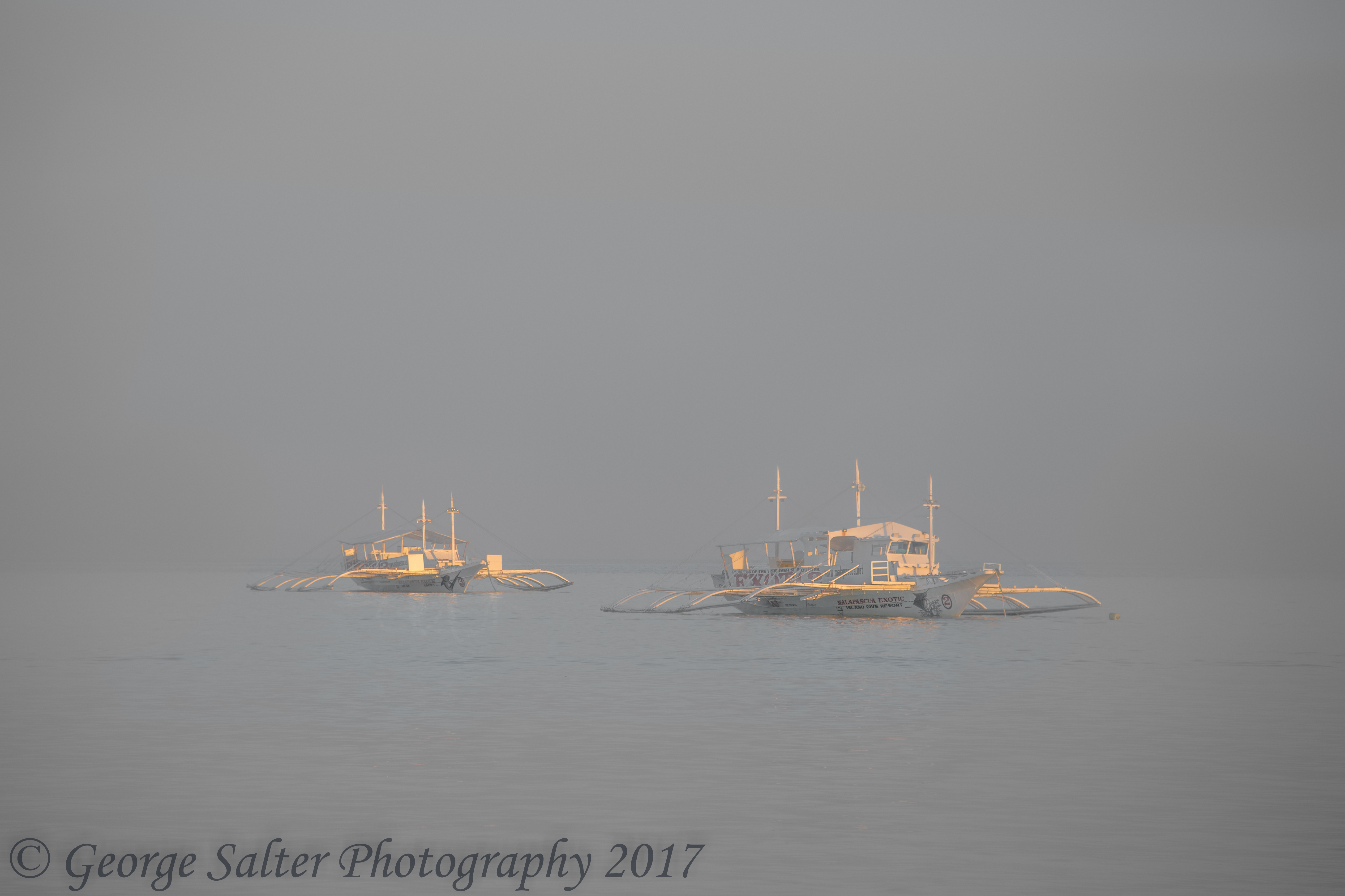 Outriggers in Haze