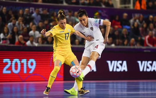 Portugal Ukraine Womens Futsal