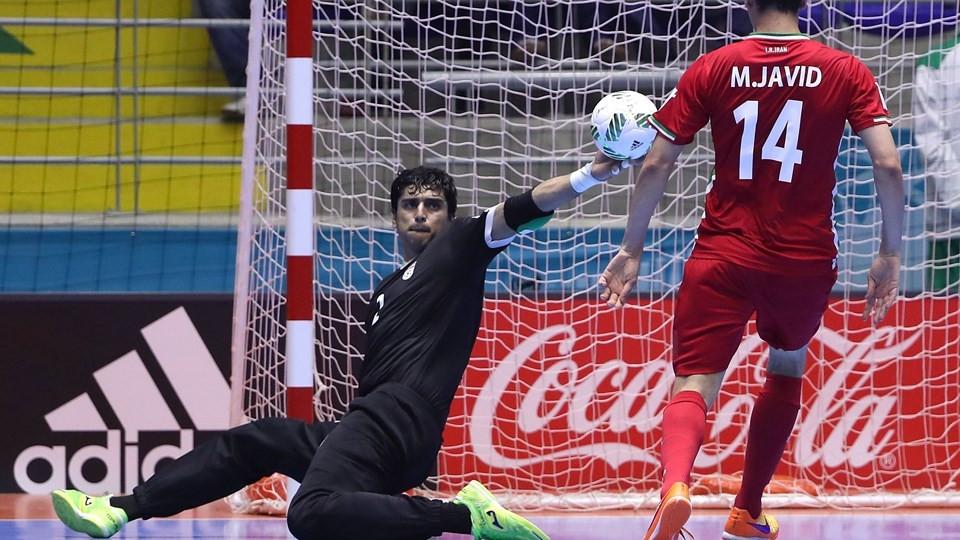 Futsal Iran Goalkeeper