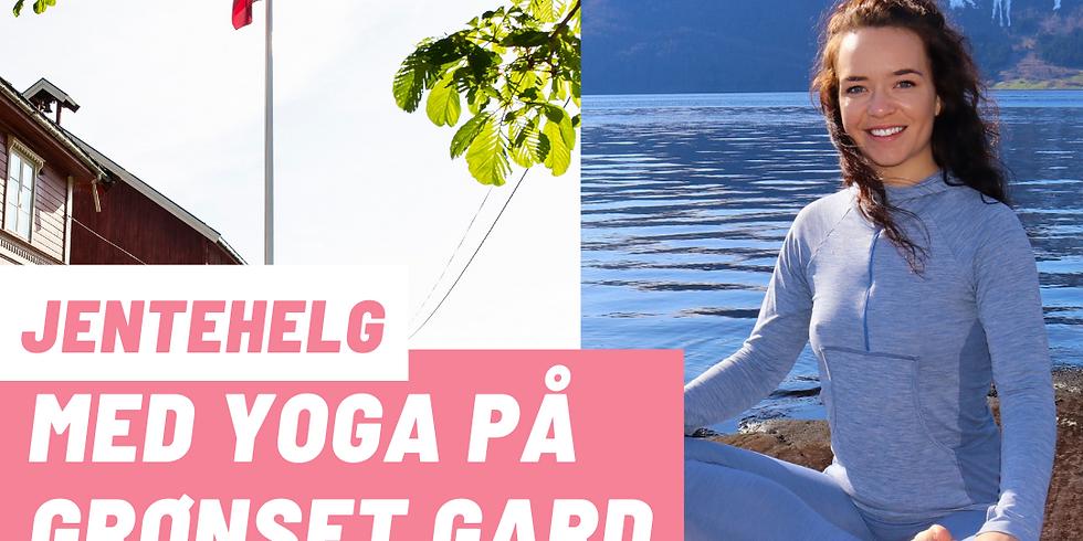 Jentehelg med yoga på Grønset gard