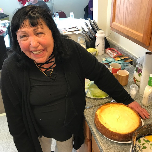Tresi and Scott Made a Cheesecake