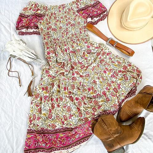 Emmy Lou Print Dress