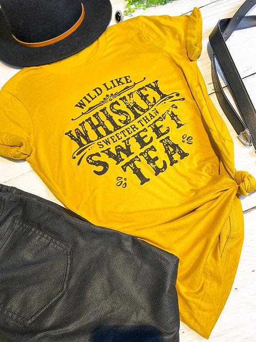 Wild Like Whiskey Tee
