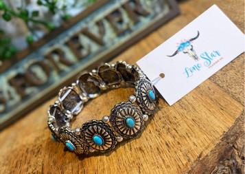 Western Concho Bracelet