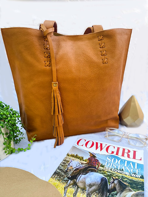 Wildest Dreams Leather Tote