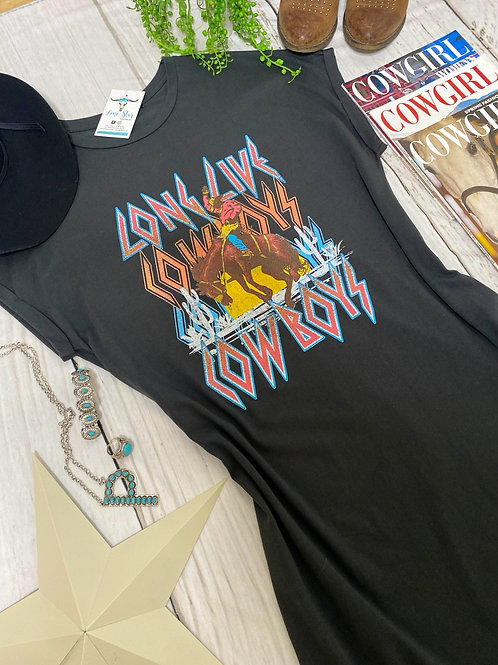 Long Live Cowboys Dress