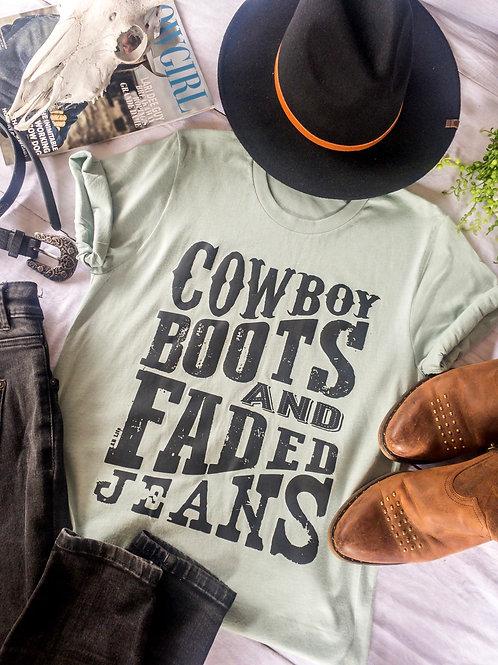 Cowboy Boots Tee