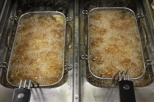 óleo de fritura usado