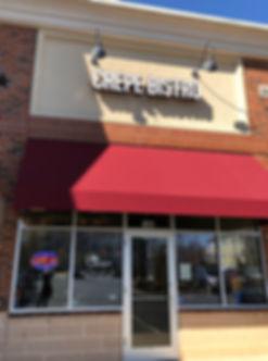 Crepe Bistro, 1605 Galleria Blvd, suite 140 Charlotte, NC 28270