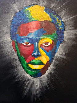 MAN OF COLORS (SOLD)