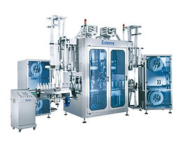 DUAL-HEAD AUTOMATIC SHRINK SLEEVE LABELING MACHINE