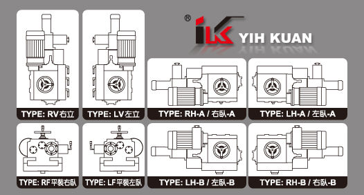 IK-610-LV Standard - Left Vertical Milling Head