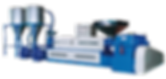 Вспомогательное оборудование для экструзионной линии древесно-полимерного композитного ПВС профиля