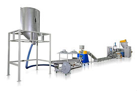 Máquina Para Reciclaje de PP. PE. ABS Residuos Plásticos