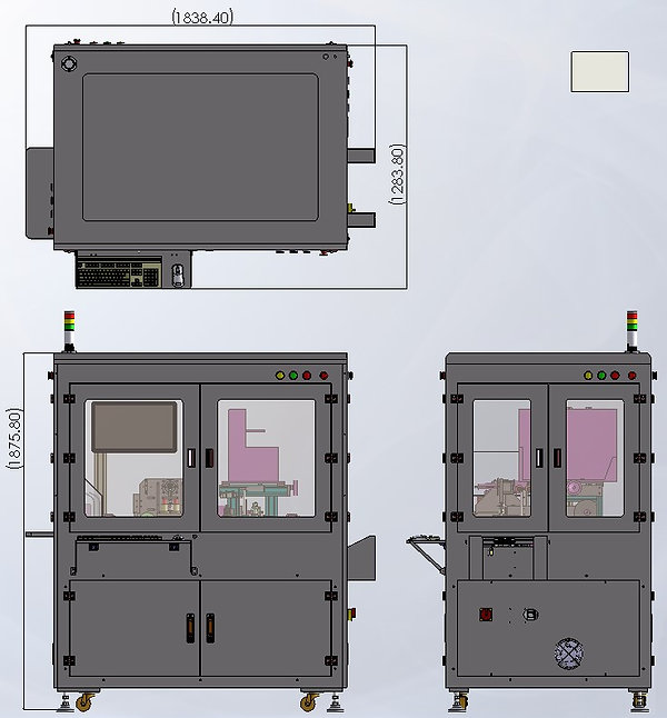 KSD(SSD) HOT STAMPING & LABELING MACHINE