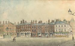 Georgian houses in Williamson Square, Livepool 1868. copy