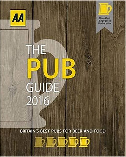 The AA Pub Guide book cover