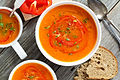 Roasted red pepper and carrot soup in white bowl.jpg