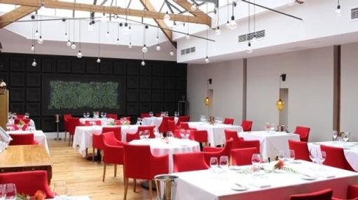 Interior of the Art School restaurant