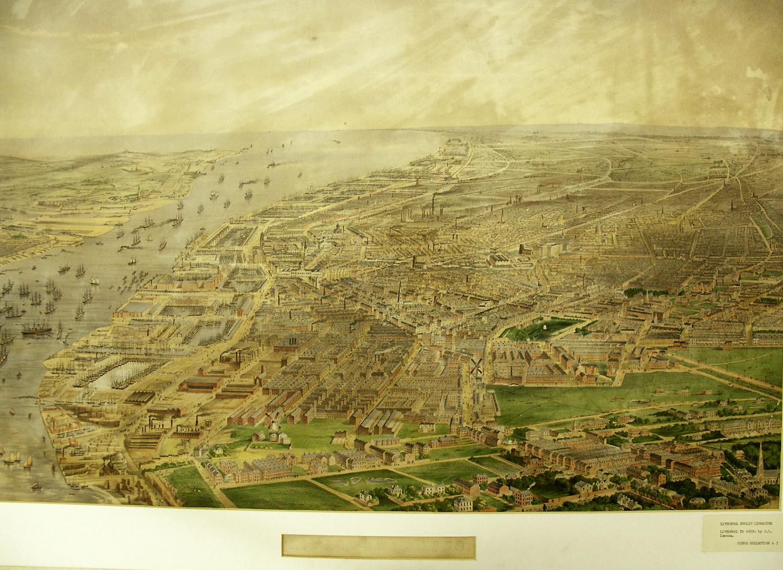 1860 Map of Livepool