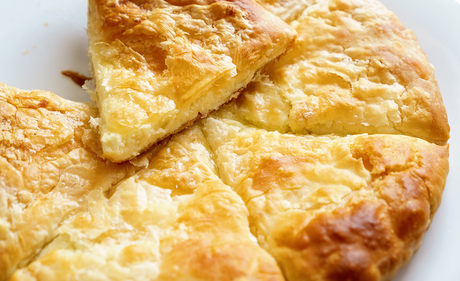 Greek cheese pastie