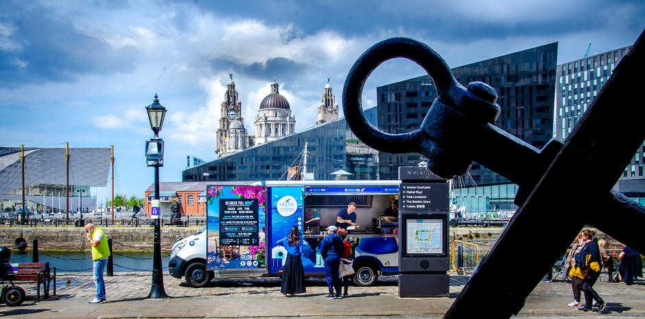 Liverpool's first Greek food truck!