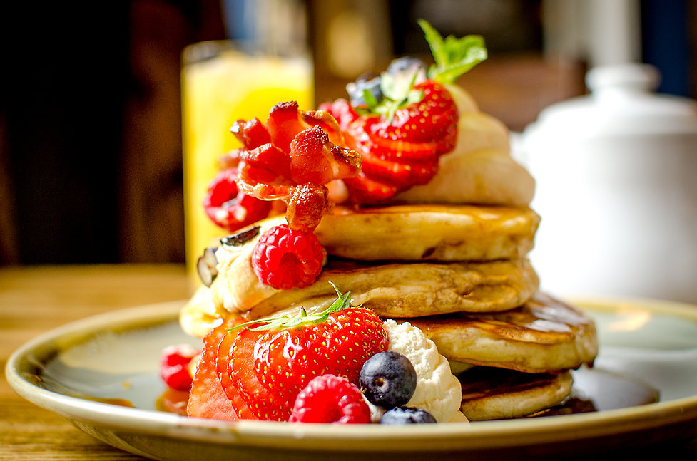 American pancakes close.jpg