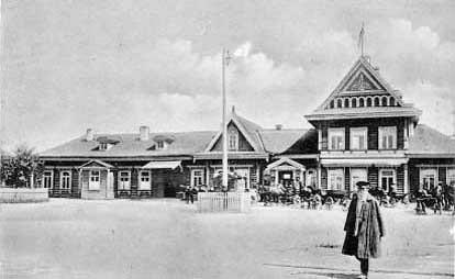 Zhitomir train station
