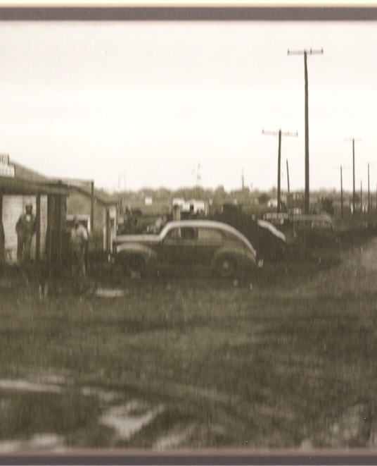 Service station near the Oil Field