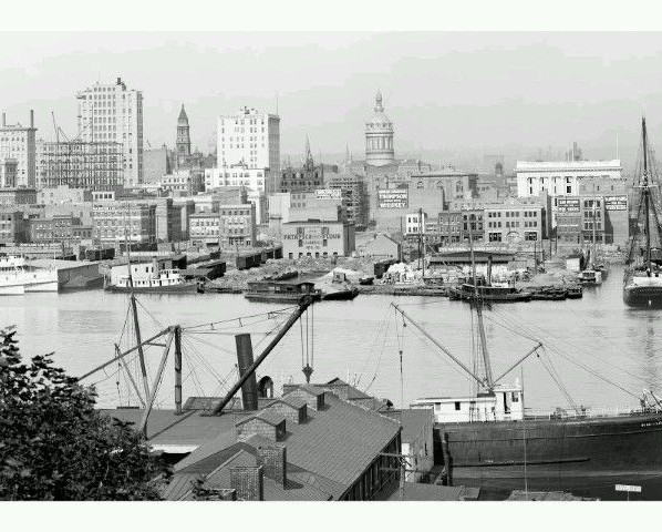 Baltimore Harbor 1900