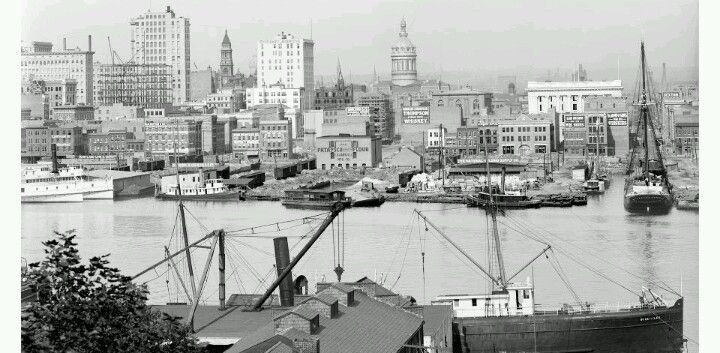 Baltimore Harbor 1900