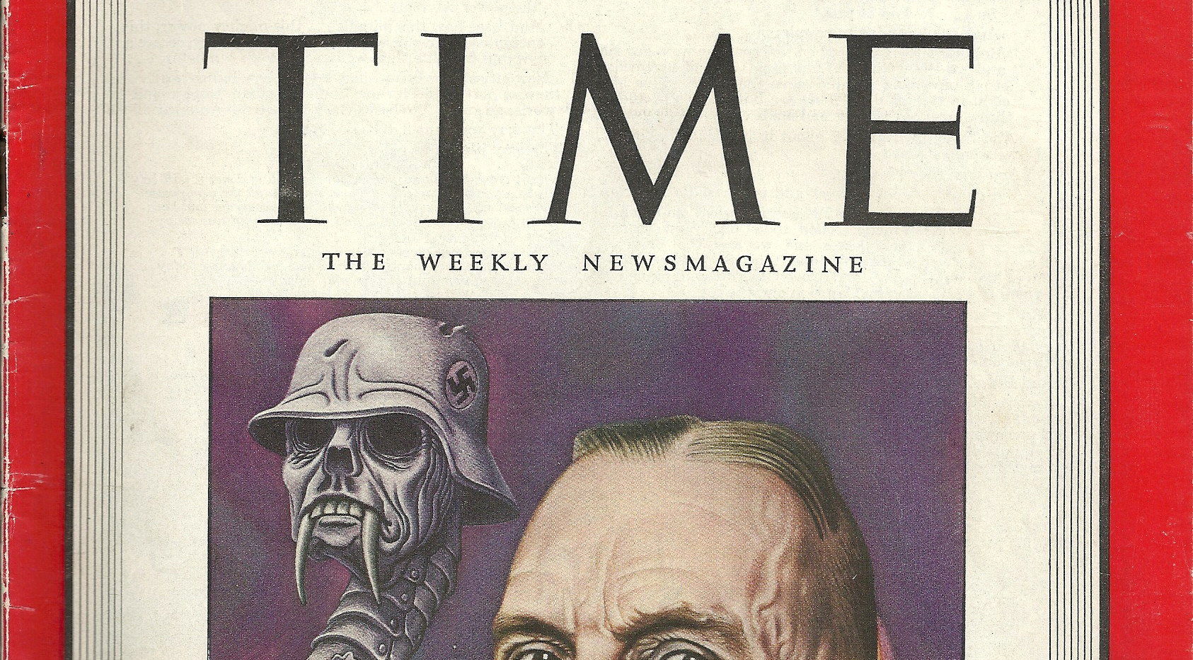 Time Magazine August 21 1944