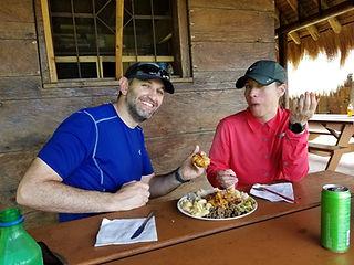 Wanderlust Caribbean - Guest meal at Kalinago Reservation