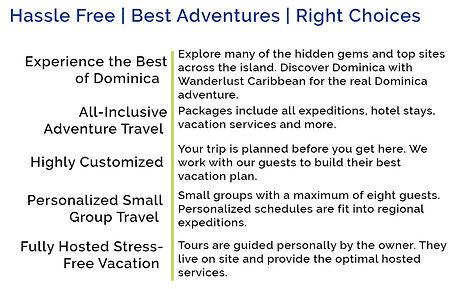 Wanderlust Caribbean Active Adventure Travel