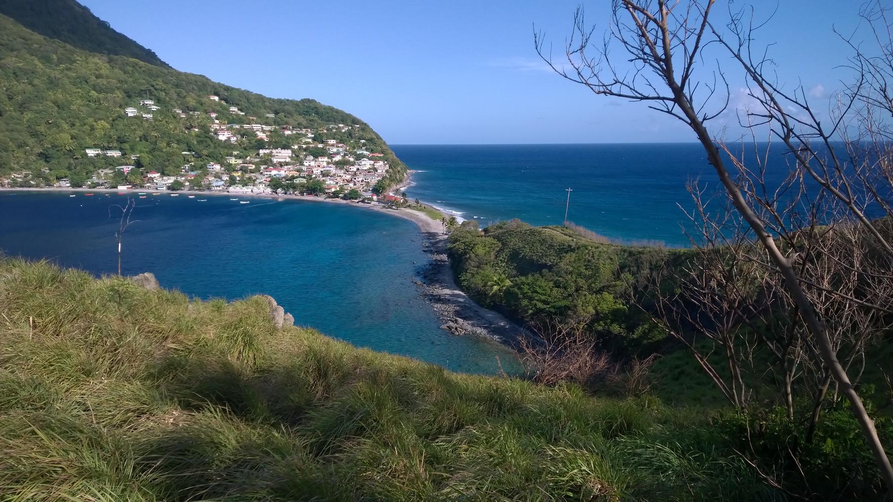 Atlantic Ocean Meets the Caribbean Sea