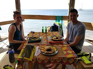 Wanderlust Caribbean - Guest meal West Coast