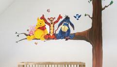 Disney muurschildering