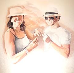 muurschildering foto