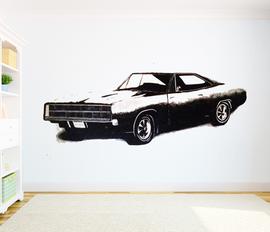 Charger muurschildering