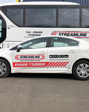 Vehicle graphics and vehicle wraps are a great way to promote your company through corporate signage. Adplan Creative, Maidstone, Kent and London