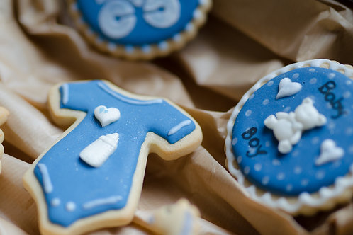 Baby Shower Cookies - Pack of 6