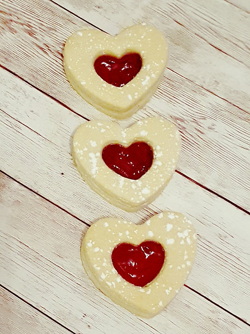 Linzer Biscuits - Pack of 12