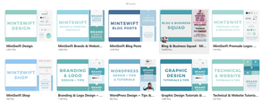 example pinterest board covers for pinterest marketing
