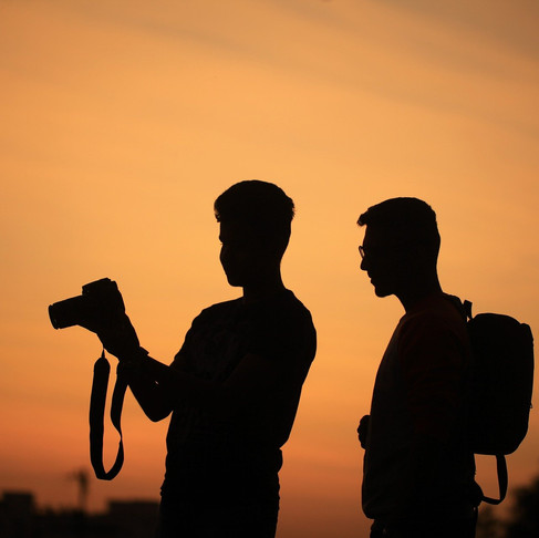 Marketing mentoring for a photographer