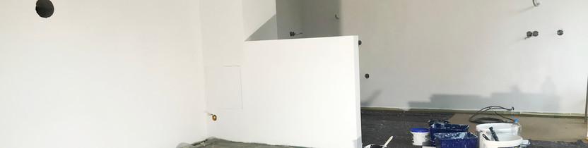 Rodinný dům - prémiová bílá barva Dulux super matt