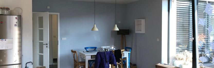Denní místnost - vinylová barva Dulux