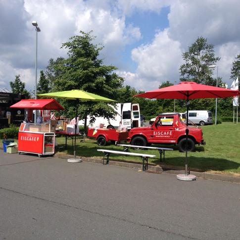 Eiswagen für Veranstaltungen