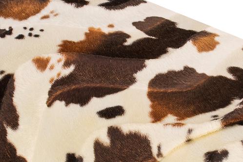 Kuscheldecke COW brown